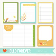 Happy Fall by Hello Forever - Two Peas in a Bucket Love the colors! Craft Projects, Projects To Try, Project Life Cards, Fall Cards, Layout Inspiration, Happy Fall, Journal Cards, Packaging Design, Stationery