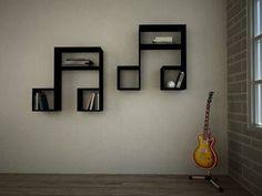 Note de musique meuble