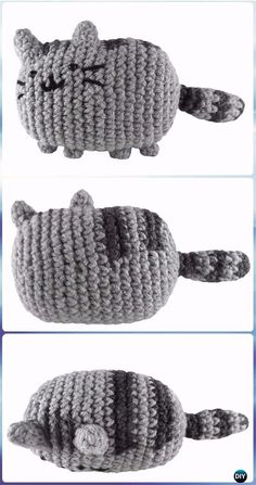 Crochet Amigurumi Pusheen the Cat Free Pattern - Crochet Amigurumi Cat Free Patterns