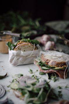 "delta-breezes: ""Veggie Harissa Hummas Sandwich | Christiann Koepke """