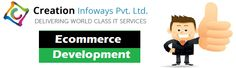 Creation Infoways Pvt. Ltd is one of the best company for E-Commerce Website Development since 15 years.