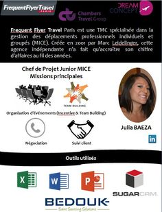 Stage MBA1 chez Frequent Flyer Travel , #EscaetCorporate