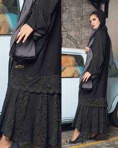 7d9c31380 New Collection #casual_royalcollection2018 عباية مروة Abaya Code 0025/2018  عباية تتميز بدانتيل من الاطراف