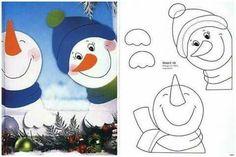 mária kľapová's media statistics and analytics Christmas Window Decorations, Christmas Door, Christmas Time, Diy And Crafts, Christmas Crafts, Crafts For Kids, Paper Crafts, Christmas Ornaments, Winter Art