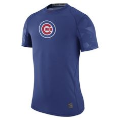 Chicago Cubs Pro Cool Performance T-Shirt  #ChicagoCubs #Cubs #NIKE #FlyTheW #MLB #ThatsCub