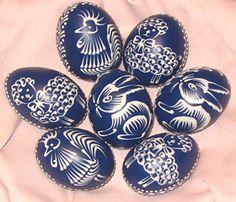 czech batik eggs  | Type of eggs