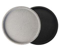 Concrete Tray Round by Zakkia $39