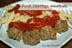 Meat Balls - Thrive Life Recipes
