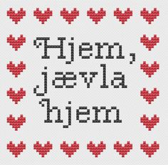 Bilderesultat for geriljabroderi Embroidery Stitches, Needlework, Diy And Crafts, Cross Stitch, Sewing, Funny, Diagram, Patterns, Decor