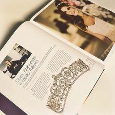 Bibiana Paranhos em destaque como designer de jóias e melhor escolha para casamentos no Vol. 4 do Book Festas, disponível nas melhores livrarias do país. Adoramos!  #clipping #bibianaparanhos #book #festas #joias