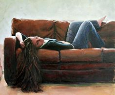 Leather Couch - Jacquelyn Bischak (1961)