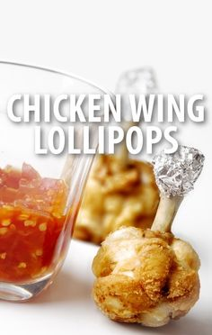 Josh Capon prepared a party appetizer of Chicken Wing Lollipops on Rachael Ray's show. They use the wingette to create a crispy taste with classic flavor. http://www.recapo.com/rachael-ray-show/rachael-ray-recipes/rachael-ray-josh-capon-chicken-wing-lollipops-recipe-party-appetizer/