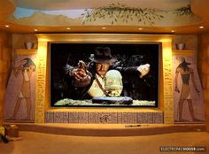 indiana jones home theater Read great articles on the latest 2013 #indoormovietheatre trends here http://articles.builderscrack.co.nz/tag/indoormovietheatre/ or hire a professional today from #Builderscrack http://builderscrack.co.nz/post-job-desc