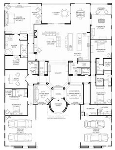 This Is Pretty Much Perfect. Floor Plan. I Would Want One More Bathroom |  House Floor Plans | Pinterest | Backyards, Areas And 4)