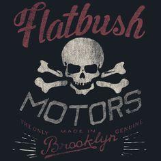 Flatbush Motors | Frank Ozmun | Graphic Design