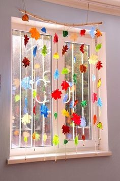 Easy Fall Crafts, Fall Crafts For Kids, Crafts For Teens, Diy And Crafts, Arts And Crafts, Diy For Teens, Diy For Kids, Decoration Creche, Ideias Diy