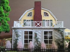 The Amityville House Made to Order HO Scale by EmmyNHiros on Etsy