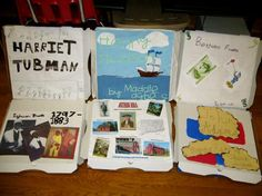 Pizza Box Biography Reports... this is awesome! I LOVE it!!!