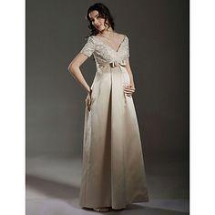 AUDNY - Vestido de Novia de Satén – USD $ 199.99