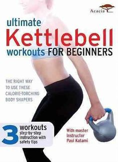 Trainer Paul Katami offers a comprehensive kettlebell fitness program with three 25-minute workouts emphasizing correct techniques for drills and combinations.