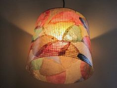 Coffee Filter Lampshade by Lampada #Etsy