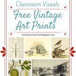 Free Vintage Art Prints - Classroom ...