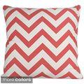 Chevron 20x20-inch Cotton Pillow   Overstock.com Shopping - The Best Deals on Throw Pillows