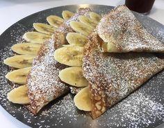 banana crepe with nutella☕️ #nutella #dessert #foodstagram #foodie #먹스타그램 #bimbom #빔봄