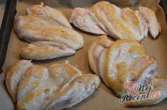 Příprava receptu Kuřecí prsa se zakysanou smetanou a sýrem, krok 2 Bread, Chicken, Breads, Bakeries, Cubs