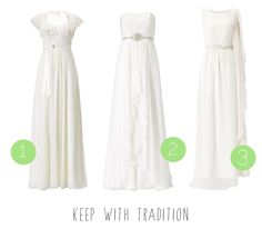 High street wedding dresses for the budget bride! :) Traditional dresses.