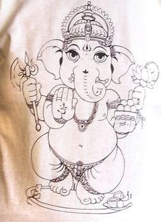 Too Cutie Ganesh T-shirt.