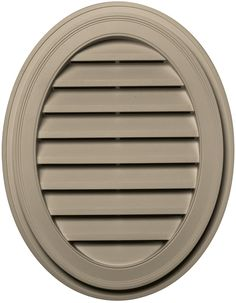Builders Edge 120042127085 21' x 27' Oval Vent 085, Clay ** For more information, visit image link.
