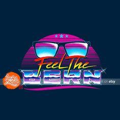 Unisex/Mens: Feel the Bern / Bernie Sanders Tee / by zerobriant