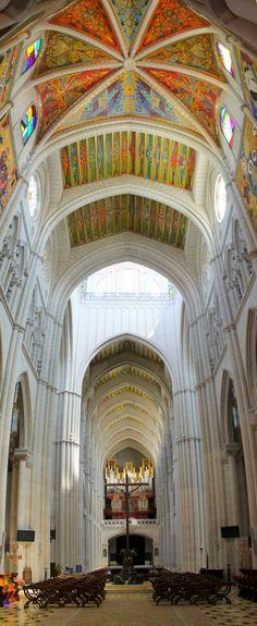 Santa María la Real de La Almudena is a Catholic cathedral in Madrid, ESPAÑA ➳ŦƶȠ➳