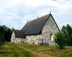 Keminmaan vanha kirkko kesällä 2003