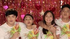 """This is James Reid, Nadine Lustre, Kathryn Bernardo, and Daniel Padilla, singing """"Thank You for the Love!"""" during the taping and recording of the 2015 ABS-CBN Christmas Station ID, """"Thank You for the Love."""" """"Nana nanana nanana Thank you, thank you for the love!"""" :-) #ThankYoufortheLove #ABSCBNChristmasStationID #JaDine #KathNiel #NadineLustre #KathNielBernaDilla Inigo Pascual, Daniel Johns, Enrique Gil, Daniel Padilla, Star Magic, John Ford, Liza Soberano, James Reid, Kathryn Bernardo"""