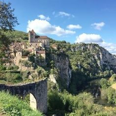 Saint-Cirq-Lapopie, Midi-Pyrénées | 58 French Villages That Should Be On Your Bucket List