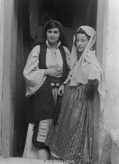 Ελλάδα 1928-1935 Αρχάγγελος Ρόδου Φωτογράφος Walter Hege Αρχείο Bildarchiv Foto Marburg Liza's Photographic Archive of Greece - Φωτογραφικά άλμπουμ της Ελλάδας.