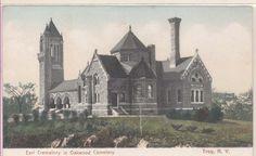 Early Earl Crematory Oakwood Cemetery Troy NY | eBay