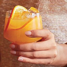 Whiskey Sour Punch | CookingLight.com