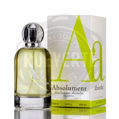 Perfume Absolument absinthe - 100ml Absolument absinthe will become the perfume that will respect your personality while highlighting your sensuality. #absinthe #fashion