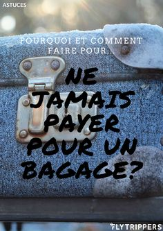 Évitez les frais de bagages supplémentaires avec ces conseils! Lisez notre blogue pour en savoir plus! Bottle Opener, Travel Light, Best Life Hacks, Baggage, Fresh, How To Make, Tips