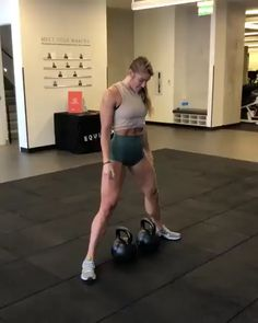 Fitness Kettlebell squats for glutes Fitness Workouts, Gym Workouts Women, Sport Fitness, Body Fitness, Butt Workout, Fitness Goals, Fitness Tips, Fitness Motivation, Leg Workouts