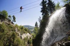Klettersteig Talbach  Zell am Ziller