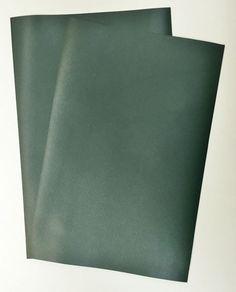 VEG-TAN LEATHER PIECES OF SHEEPSKIN CRAFT PACK 4 @ 20CM X 15CM LIPSTICK RED 1mm