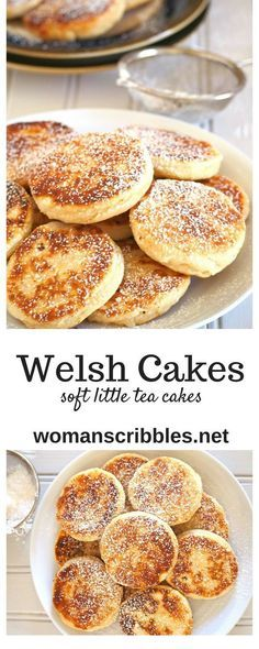 recipes english Welsh Cakes Welsh Cakes are soft and buttery little cakes delicious for snacking and are either served hot or cold. Serve them with your coffee or ice cream as they are satisfying little treats anytime of day. Welsh Cakes Recipe, Welsh Recipes, Scottish Recipes, Scottish Desserts, Baking Recipes, Cookie Recipes, Scones, Little Cakes, Afternoon Tea