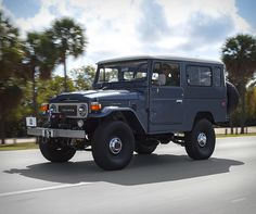 FJ Company specialize in performing full, frame-off restorations of the classic Japanese Toyota FJ series. Built for the serious Toyota FJ enthusiast, The Sport is the most modern Land Cruiser in FJ Company´s lineup, an authentic FJ40 or FJ43, comple