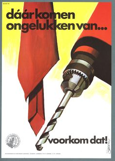 Dutch Safety posters ~ Frans Mettes