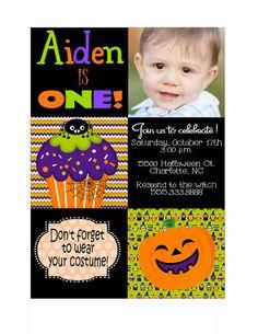 Saving this for jennateal fall pumpkin birthday invitation setof12halloweenbirthdayinvitationsbyallisonhopedesigns filmwisefo