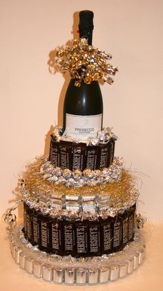 Items similar to Chocolate Candy/ Wine Cake on Etsy - Items similar to Chocolate Candy/ Wine Cake on Etsy Chocolate Candy/ Wine Cake by CoveredInCandy on Etsy 21st Birthday, Birthday Parties, Birthday Gifts, Golden Birthday, Birthday Ideas, Birthday Cake, Craft Gifts, Diy Gifts, Candy Arrangements
